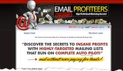 Email Profiteer Members Area